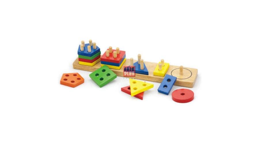 Változatos, masszív játékok kicsiknek