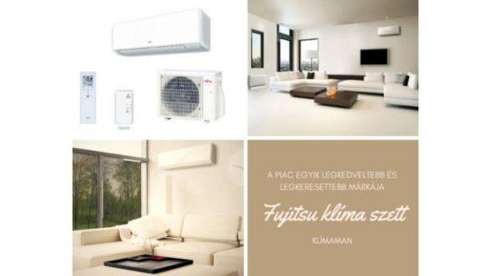 Nem okoz csalódást a Fujitsu klíma