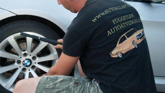 Autó átvizsgálás Budapest körzetében kedvező áron