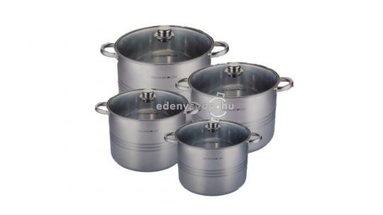 Rozsdamentes acél edények: jó választás a teljes szett