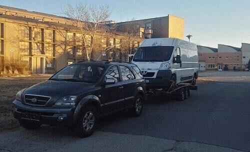 A profi autómentő Budapesten is elérhető